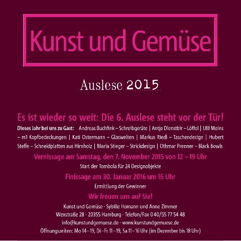 Kunst und Gemüse Auslese2015